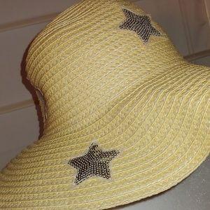 🆕Cat & Jack floppy straw hat